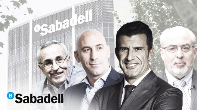 Figo, Rubiales y Alejandro Blanco, juntos en el Foro del Deporte de OKDIARIO