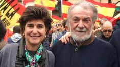 María San Gil y Jaime Mayor Oreja.