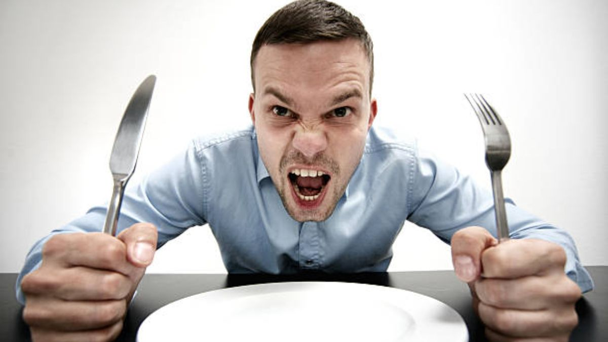 El motivo por el que nos enfadamos si no comemos