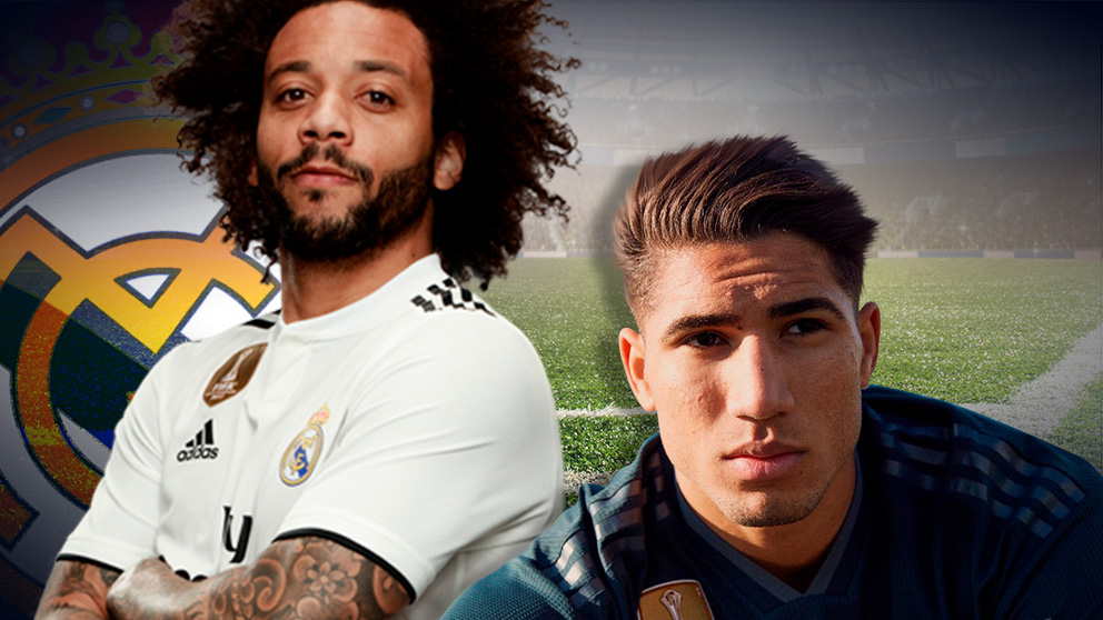 Achraf puede sustituir a Marcelo en el Real Madrid.