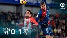 El Athletic gana al Huesca. (EFE)