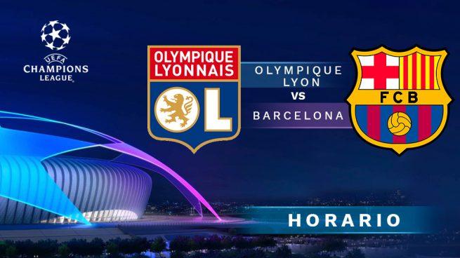 olympique lyon barcelona