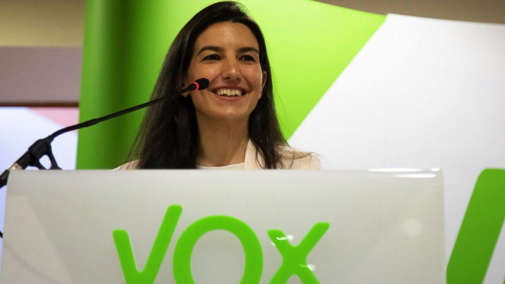 La candidata de Vox Rocío Monasterio. (Foto. Vox)