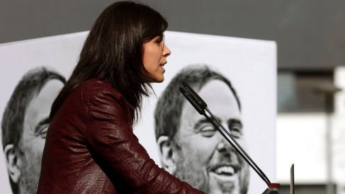 La portavoz de ERC, Marta Vilalta. (Foto. EFE)