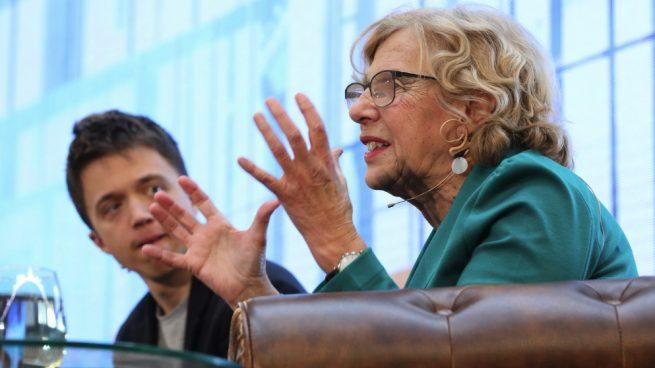 Carmena y Errejón olvidan incluir medidas sobre suciedad y delincuencia en su programa electoral