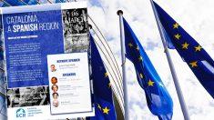 Primera conferencia oficial de VOX en la sede del parlamento europeo