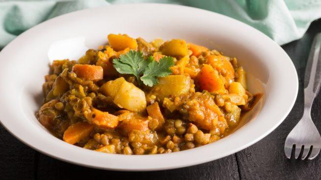 Receta De Lentejas Con Pollo Al Curry