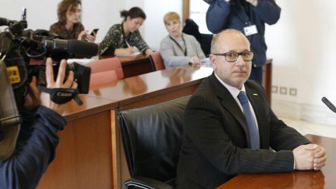 Francisco José Alcaraz, parlamentario nacional de VOX. Foto: Europa Press