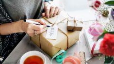 Pasos para hacer una caja de regalo