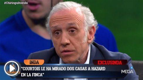 Eden Hazard tiene a Courtois como asesor inmobiliario en Madrid.