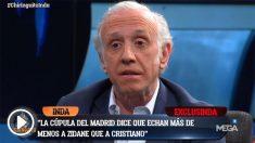 Inda desveló que la cúpula añora a Zidane más que a Cristiano.