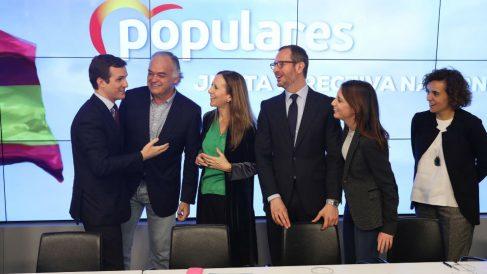 Miembros del PP. Foto: Europa Press