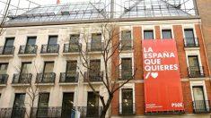 Sede del PSOE en la calle Ferraz.