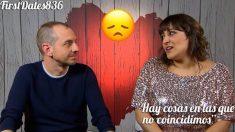Domingo y Nerea no han encontrado el feeling necesario en 'First Dates'