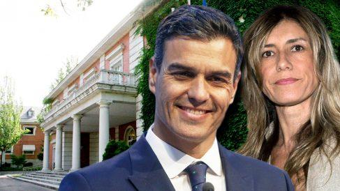 El presidente del Gobierno, Pedro Sánchez, y su mujer, Begoña Gómez.
