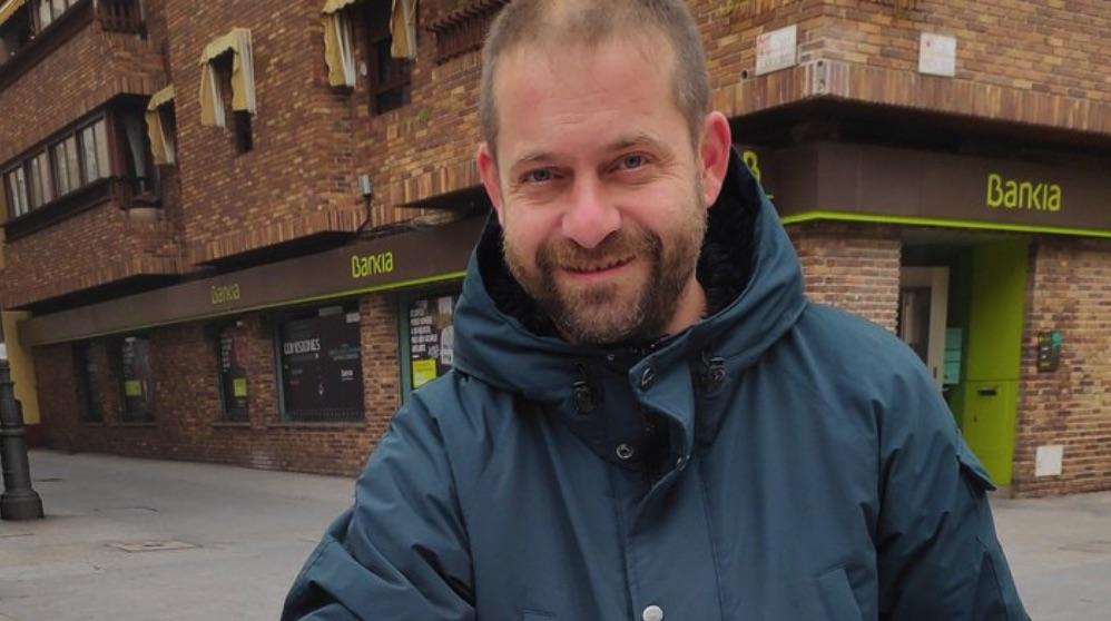 Fran Muñoz, candidato de Más Madrid en Leganés.
