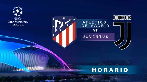 Champions League: Atlético de Madrid – Juventus| Horario del partido de fútbol de Champions League.
