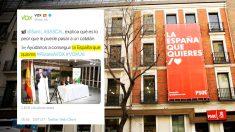 """El PSOE copia a VBOX su reclamo electoral: """"La España que quieres"""""""