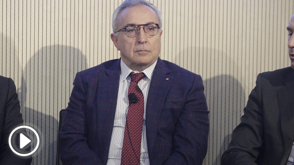 Alejandro Blanco, durante el Okforos 'Deportistas, el día después'. (Francisco Toledo)