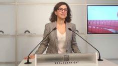 Eva Granados, del PSC. Foto: Europa Press