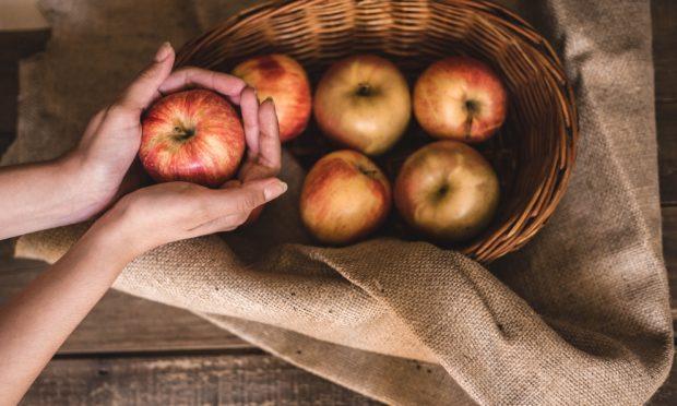 crema pastelera de manzana