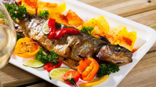 Receta De Trucha Al Horno Con Verduras