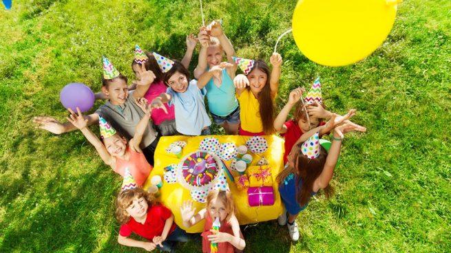 fiesta cumpleaños aire libre