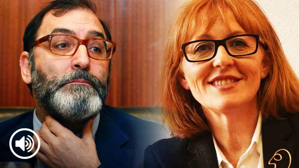 El juez Eloy Velasco y su mujer la letrada Beatriz Saura.