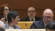 José Alcaraz (Vox) en el Senado. Foto: EP