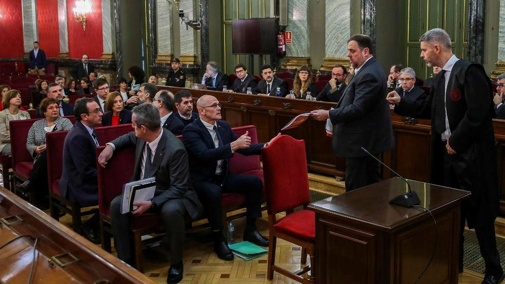 Juicio del 1-O. Foto: Europa Press