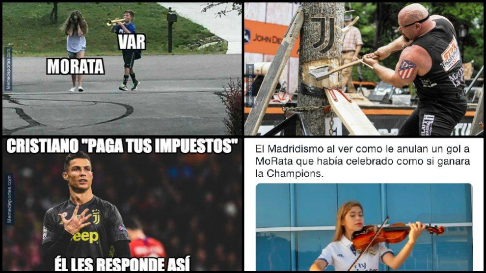 Memes Atlético de Madrid – Juventus