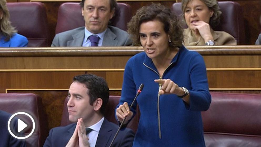 La portavoz del Partido Popular, Dolors Montserrat. Foto: EFE