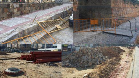 Obras paralizadas en Fuencarral-El Pardo.