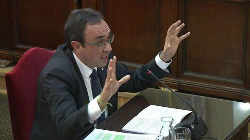 Josep Rull declara ante el Tribunal Supremo en el juicio al 'procés'