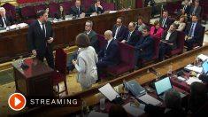 El juicio del 'procés', en directo.