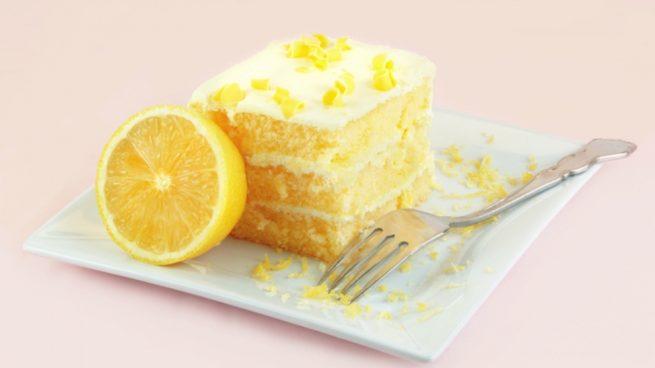 Tarta de helada de limón y leche condensada