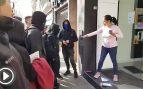 La inmigrante embarazada que planta cara a los CDR y se niega a cerrar su negocio por la huelga