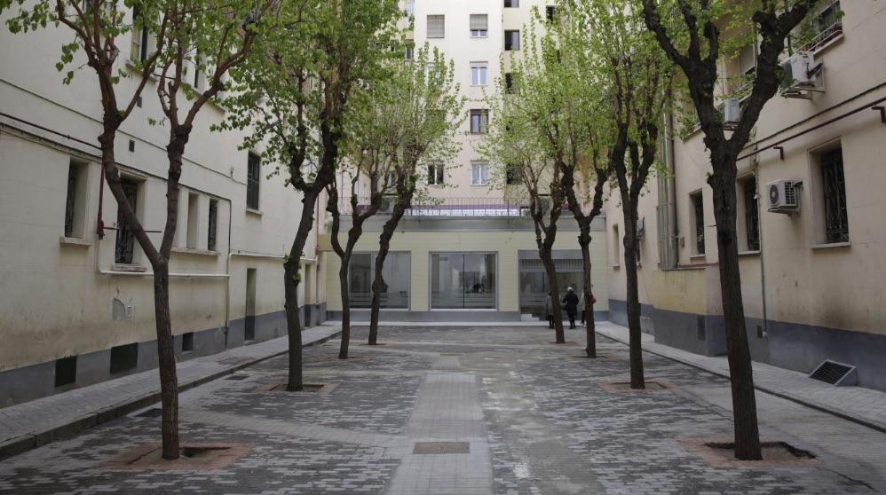 Entrada al complejo de Chamberí. (Foto. Madrid)
