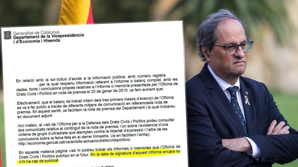 La Generalitat reconoce que no existe un informe oficial sobre las agresiones de la ultraderecha en Cataluña