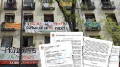 La juez exige por escrito al Gobierno fuerza policial para desahuciar a los okupas de Argumosa