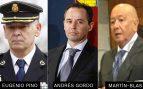 Imputan al ex DAO Pino, Martín Blas y el escolta jefe de Cospedal por sobornar al chófer de Bárcenas