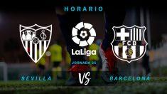 Liga Santander: Sevilla – Barcelona| Horario del partido de fútbol de Liga Santander.
