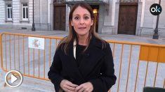 María Jamardo cubre el juicio del procés para OKDIARIO
