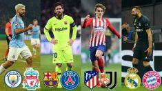 ¿Quién es el gran candidato a ganar la Champions League?