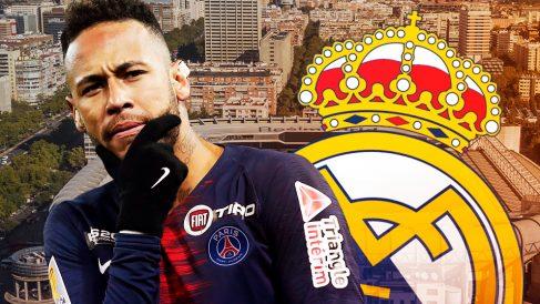 Neymar también manda su mensaje al PSG.