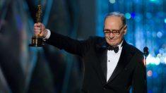 Ennio Morricone consiguió un Oscar en 2017