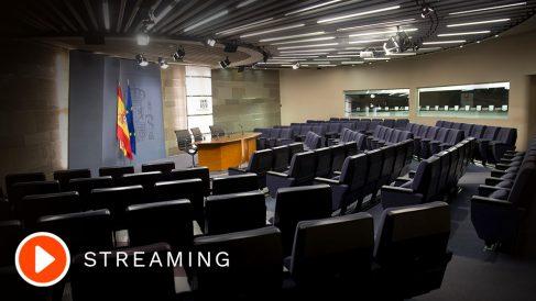El Consejo de Ministros, en directo en streaming.