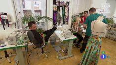 Toni y su prueba de exteriores en 'Maestros de la costura'