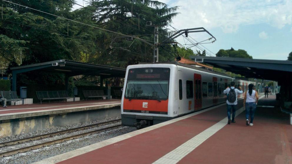 Tren de FGC. Foto: Europa Press