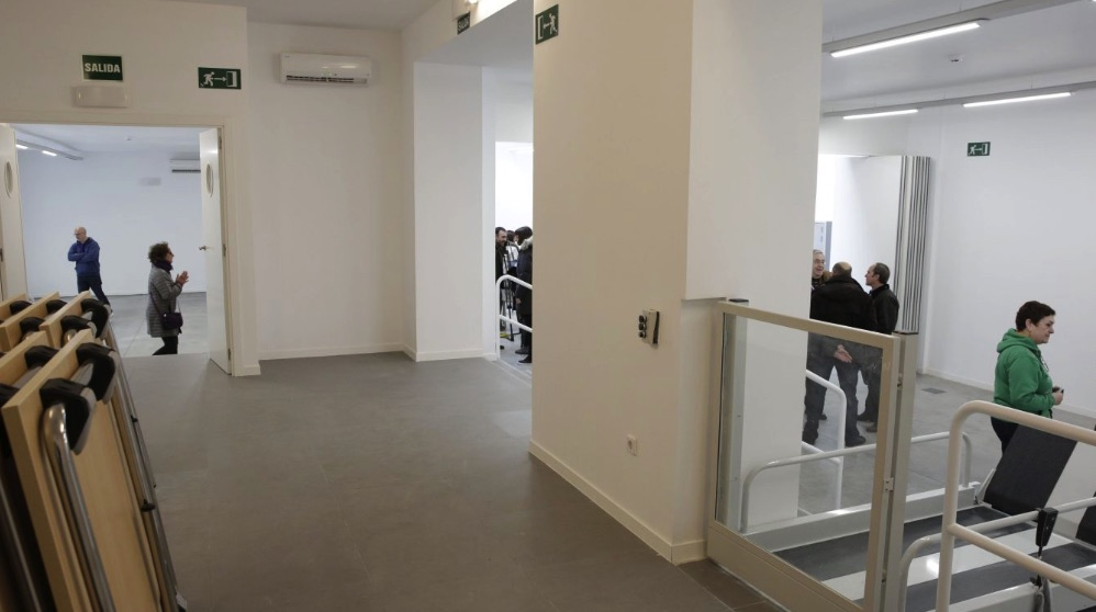Una de las muchas salas del complejo de Chamberí. (Foto. Madrid)